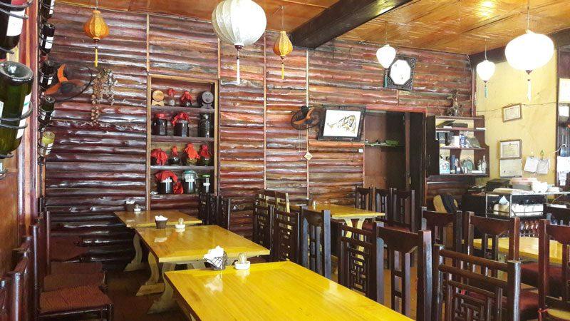 nhà hàng hoa đồng tiền sapa